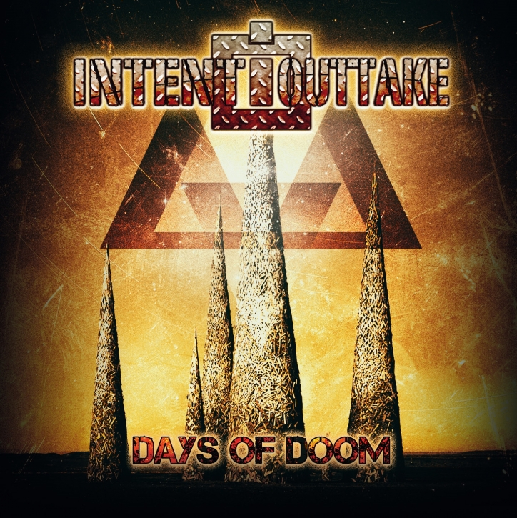 INTENT:OUTTAKE Days of Doom (Limited 1st Edition) 2CD Digipack 2019 (AGONOIZE)