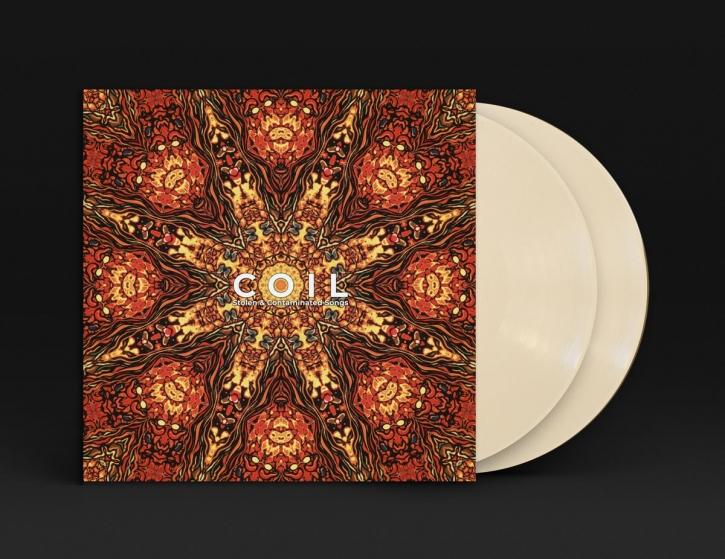 COIL Stolen & Contaminated Songs 2LP BONE coloured VINYL 2019 LTD.800
