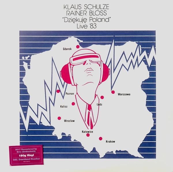 KLAUS SCHULZE & Rainer Bloss Dziekuje Poland Live '83 (remastered 2017) 2LP VINYL 2018