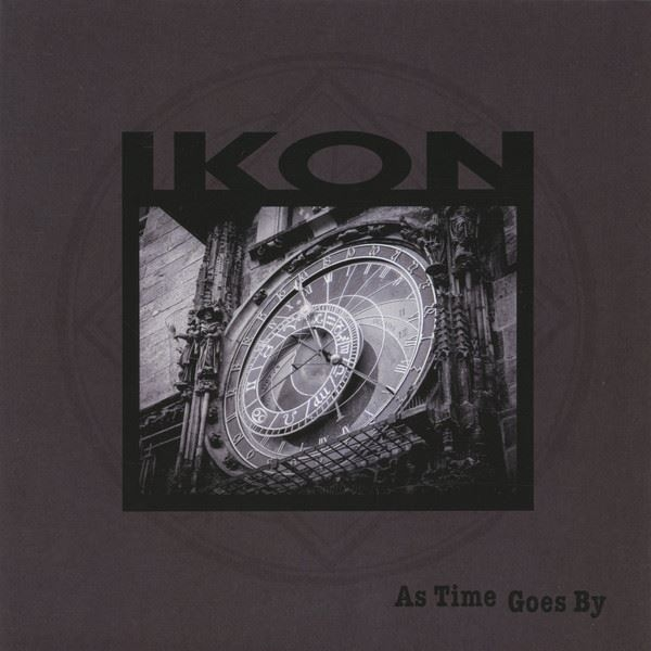 """IKON As Time goes by (remixed 2018) LIMITED 7"""" GREY VINYL 2019"""