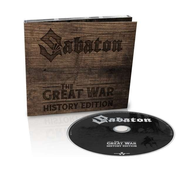 SABATON The Great War (History Edition) LIMITED CD Digipack 2019