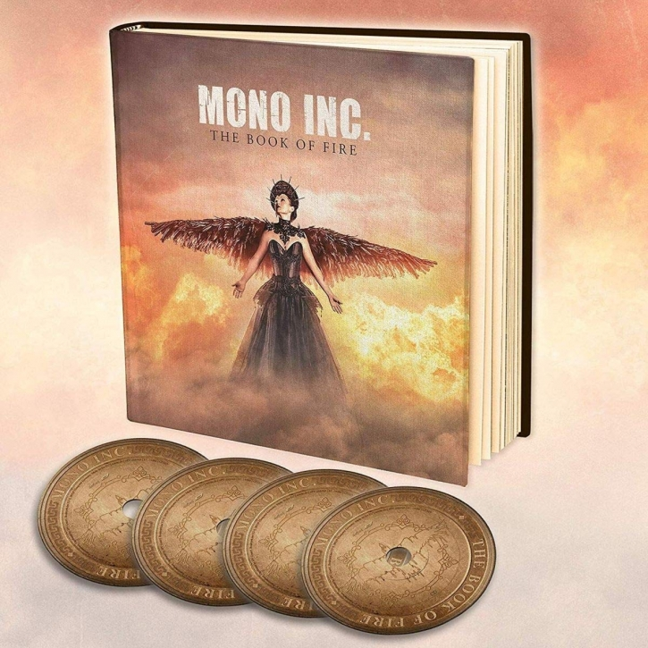 MONO INC. The Book of Fire LIMITED 3CD+DVD Earbook 2020