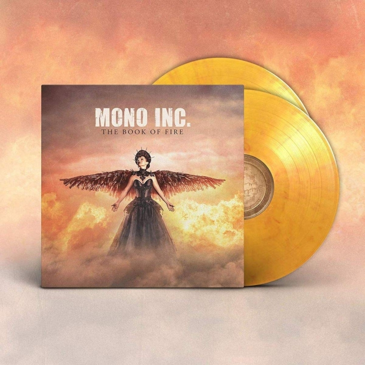 MONO INC. The Book of Fire LIMITED 2LP VINYL 2020
