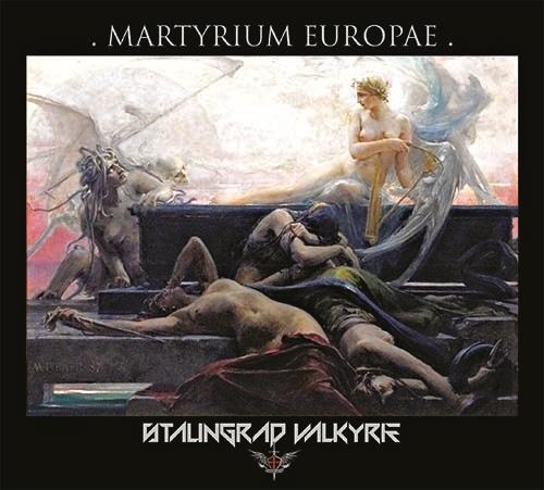 STALINGRAD VALKYRIE Martyrium Europae CD Digipack 2020 (KIRLIAN CAMERA)
