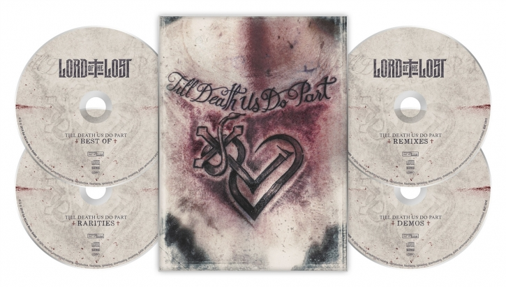 LORD OF THE LOST Till Death Us Do Part 4CD A5 Digipack 2019 LTD.1000