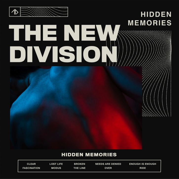 THE NEW DIVISION Hidden Memories [limited + 6 bonus] CD 2020