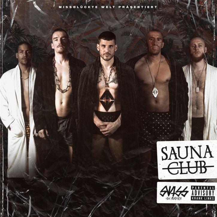 SWISS & DIE ANDERN Saunaclub LIMITED LP SPLATTER VINYL 2020 (VÖ 01.05)