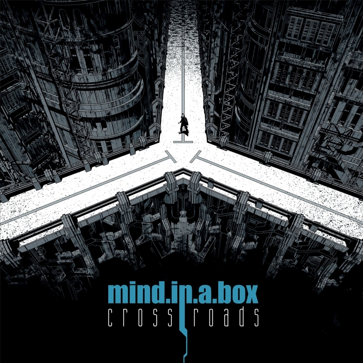 MIND.IN.A.BOX Crossroads 2LP BLACK VINYL 2020 LTD.200