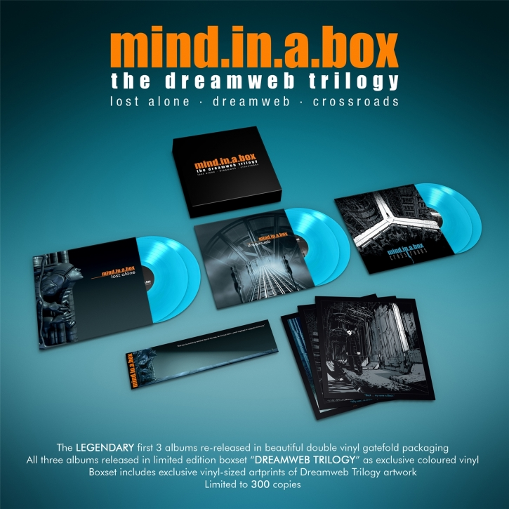 MIND.IN.A.BOX Dreamweb Trilogy 6LP BLUE VINYL BOXSET 2020 LTD.300 (VÖ 14.02)
