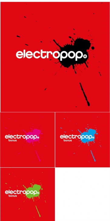 ELECTROPOP VOL.16 (Deluxe Fan Bundle) 4CD 2020 LTD.99 BOYTRONIC (VÖ 28.02)