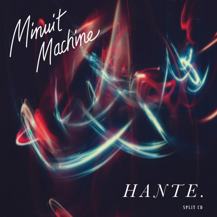 MINUIT MACHINE / HANTE. Split CD Digipack 2020 LTD.300