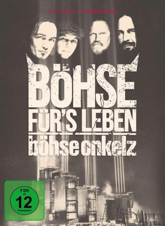 BÖHSE ONKELZ Böhse für's Leben: Live Am Hockenheimring 2015 3DVD 2016