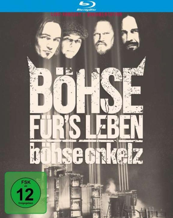 BÖHSE ONKELZ Böhse für's Leben: Live Am Hockenheimring 2015 3BLURAY 2016