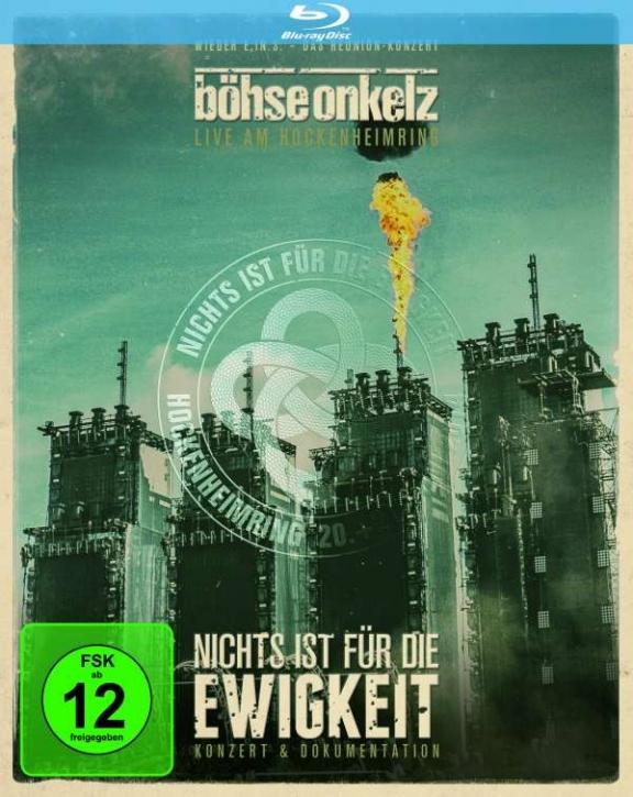 BÖHSE ONKELZ Nichts ist für die Ewigkeit - Live am Hockenheimring 2014 2BLURAY 2014