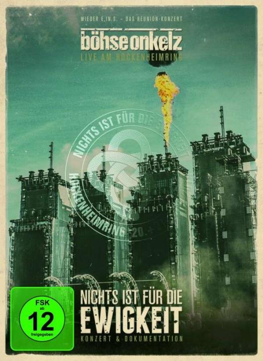 BÖHSE ONKELZ Nichts ist für die Ewigkeit - Live am Hockenheimring 2014 2DVD 2014