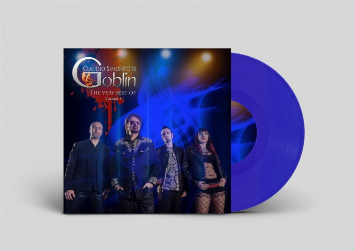 CLAUDIO SIMONETTI'S GOBLIN The Best of, Vol.1 LIMITED LP BLUE VINYL 2019