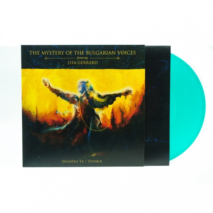 THE MYSTERY OF THE BULGARIAN VOICES feat. LISA GERRARD Shandai Ya / Stanka LP GREEN VINYL 2020 (VÖ 17.04)