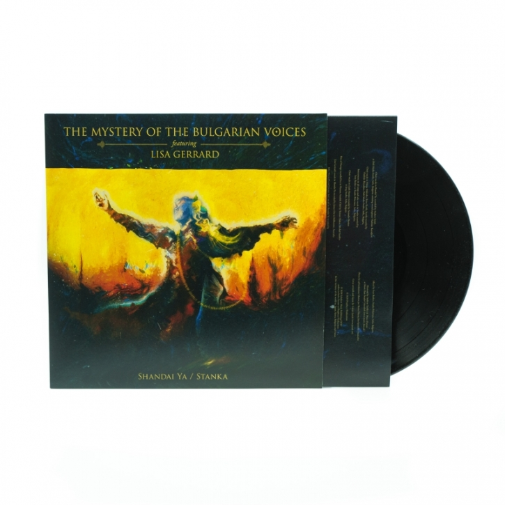 THE MYSTERY OF THE BULGARIAN VOICES feat. LISA GERRARD Shandai Ya / Stanka LP BLACK VINYL 2020 (VÖ 17.04)