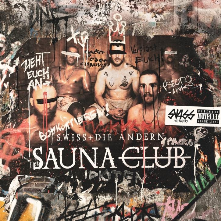 SWISS & DIE ANDERN Saunaclub LP BLACK VINYL 2020 (VÖ 01.05)