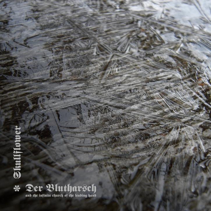 DER BLUTHARSCH & SKULLFLOWER Split LIMITED LP VINYL 2021