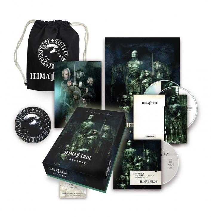 HEIMATAERDE Eigengrab LIMITED 3CD BOXSET 2020 (VÖ 24.04)