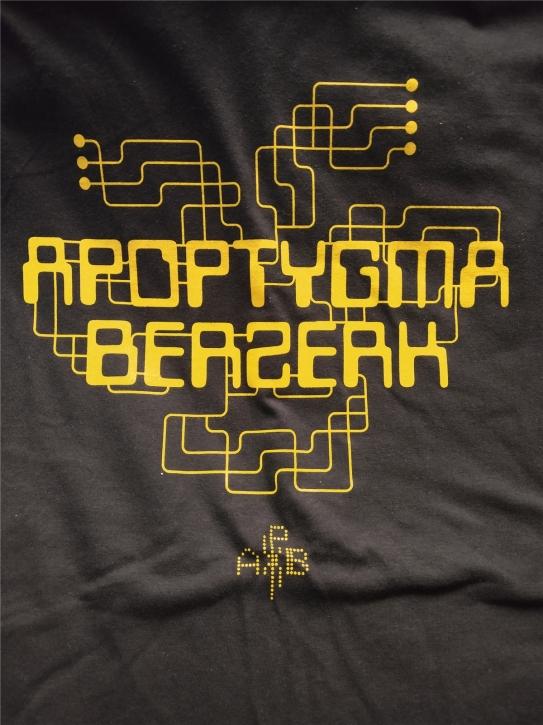 APOPTYGMA BERZERK Videodrome Gold T-SHIRT
