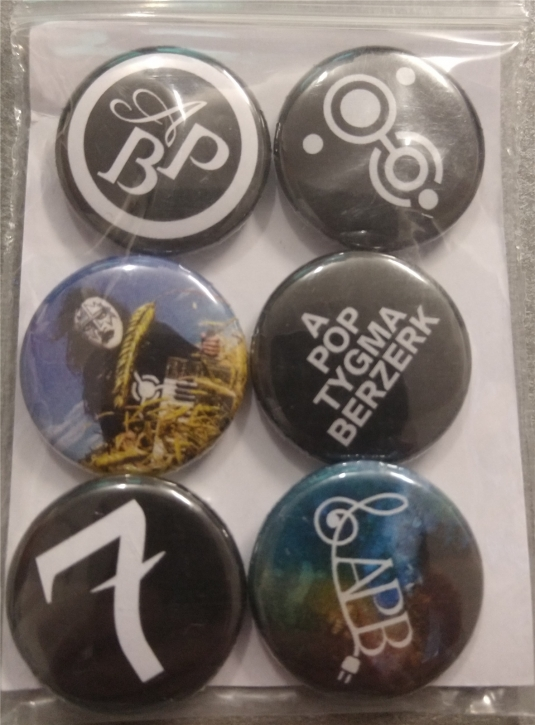 APOPTYGMA BERZERK 6 Limited Button Set 25 mm