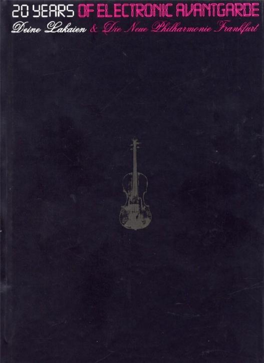 DEINE LAKAIEN 20 Years Of Electronic Avantgarde LIMITED 2DVD+2CD+BONUS DVD 2007