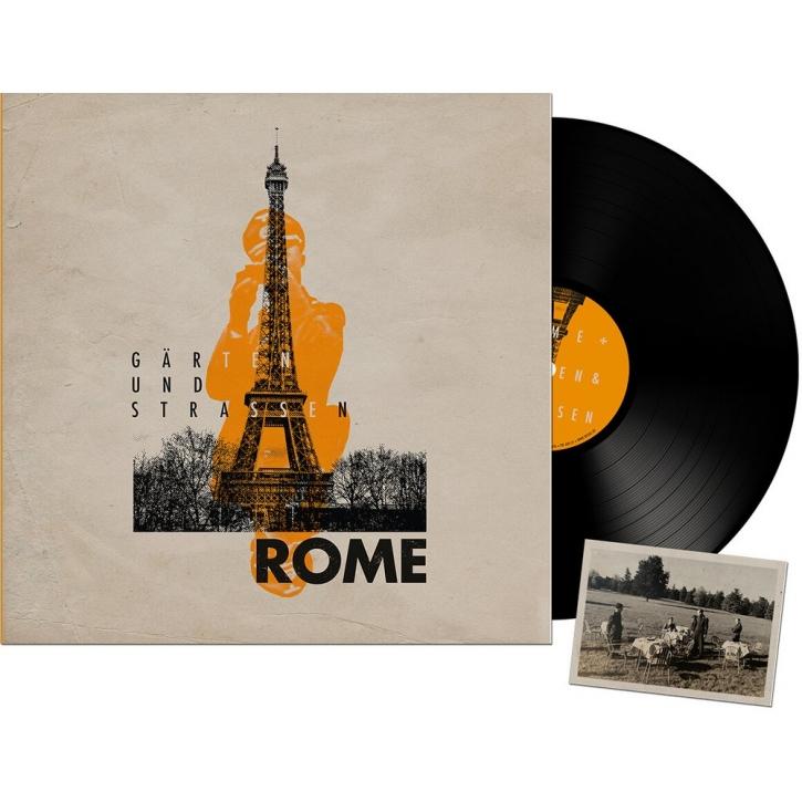 ROME Gärten und Strassen LP VINYL 2020 LTD.500