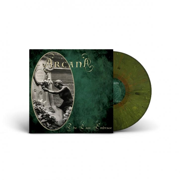 ARCANA …The Last Embrace LP Green & Black marbled VINYL 2020 LTD.200