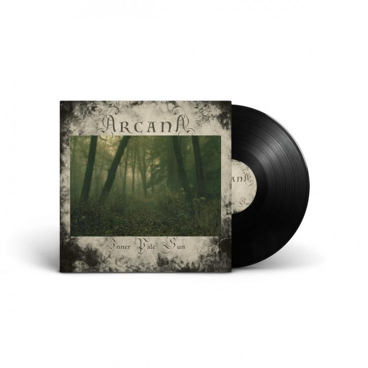 ARCANA Inner Pale Sun LP Black VINYL 2020 LTD.300