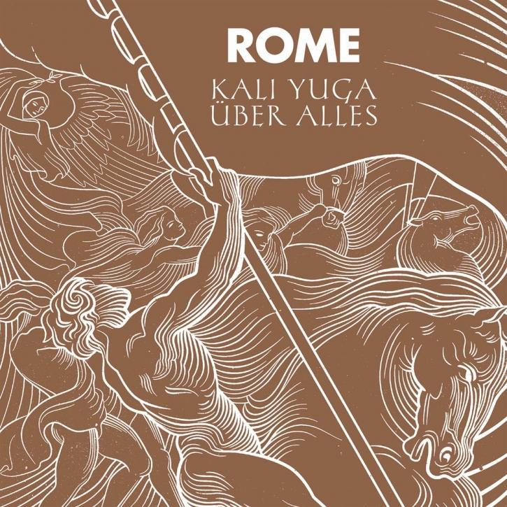 "ROME Kali Yuga Über Alles 7"" VINYL 2020 LTD.500"