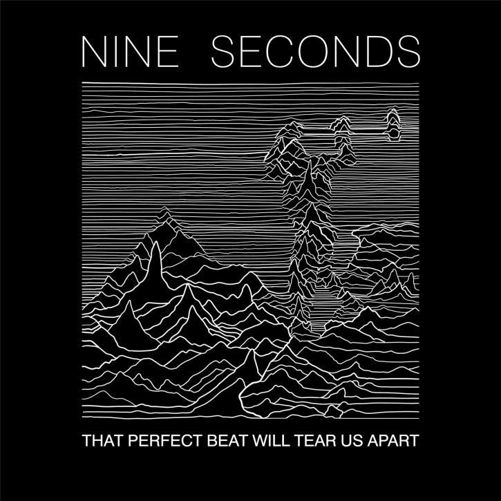 NINE SECONDS That Perfect Beat Will Tear Us Apart CD 2020