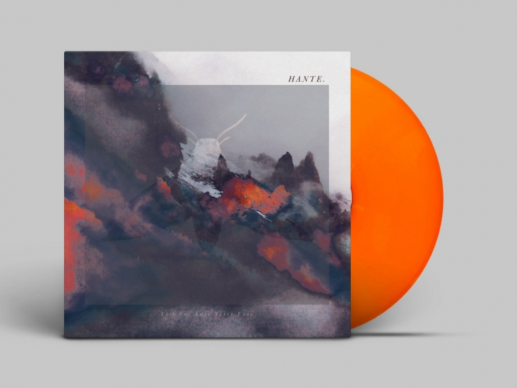 HANTE. This Fog that never ends LIMITED LP ORANGE VINYL 2020
