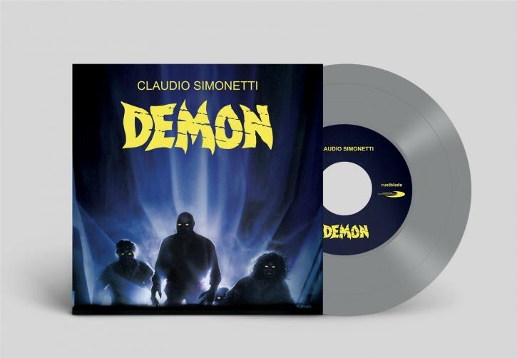 "CLAUDIO SIMONETTI Demon 7"" SILVER VINYL 2020 LTD.499"