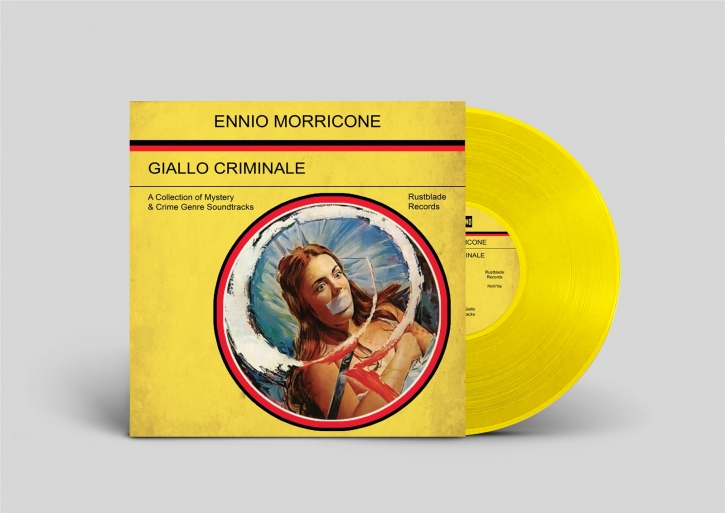 ENNIO MORRICONE Giallo Criminale LP YELLOW VINYL 2020 LTD.499
