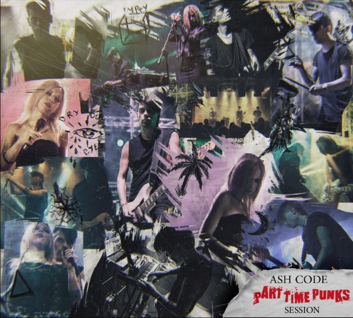 ASH CODE Part Time Punks Session CD Digipack 2020 LTD.500