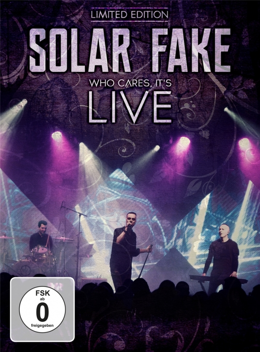 SOLAR FAKE Who Cares, It's Live LIMITED 2CD+DVD 2020