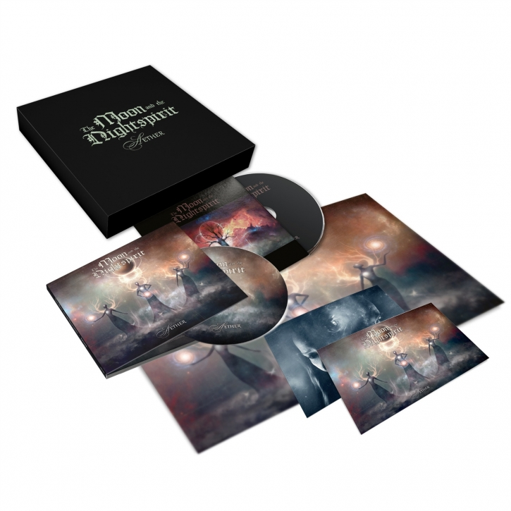 THE MOON AND THE NIGHTSPIRIT Aether 2CD BOX 2020 LTD.500 (VÖ 19.06)