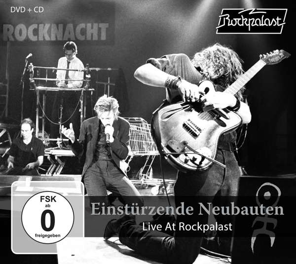 EINSTÜRZENDE NEUBAUTEN Live at Rockpalast CD+DVD Digipack 2018