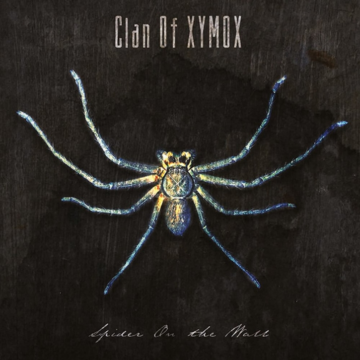 CLAN OF XYMOX Spider on the Wall CD 2020 (VÖ 24.07)