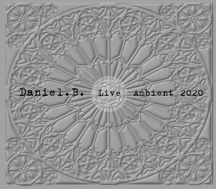 DANIEL B. Live Ambient 2020 CD Digipack 2020 LTD.300 (FRONT 242)