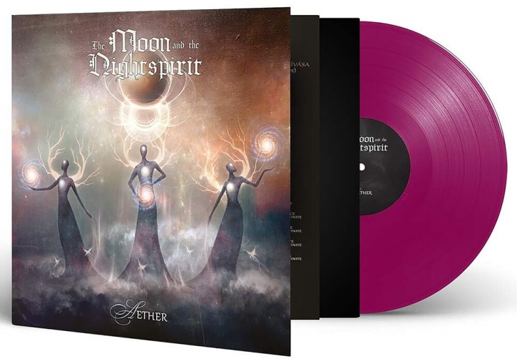 THE MOON AND THE NIGHTSPIRIT Aether LP VIOLETT VINYL 2020 LTD.200