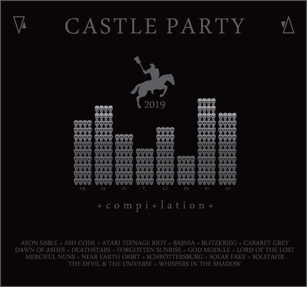 CASTLE PARTY 2019 LIMITED CD Digipack LORD OF THE LOST Solar Fake ASH CODE