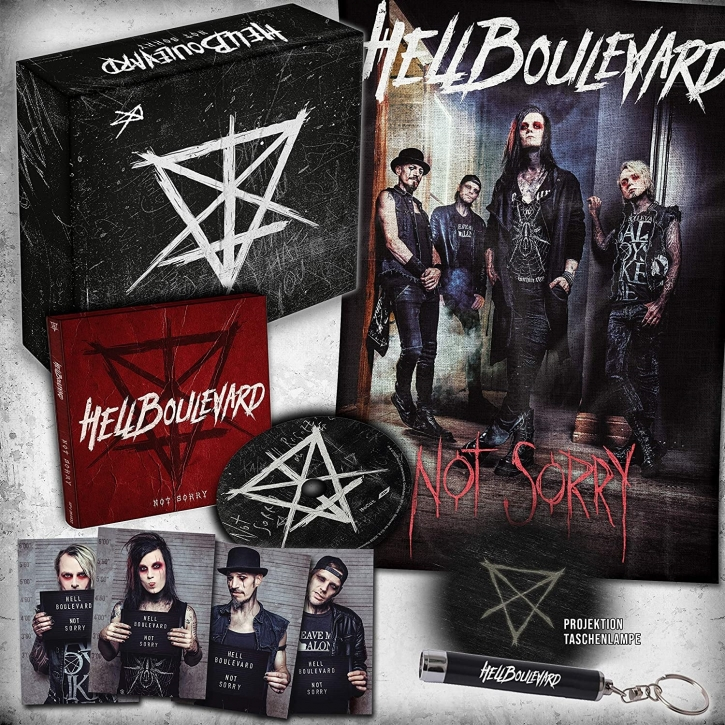 HELL BOULEVARD Not Sorry LIMITED FANBOX 2020