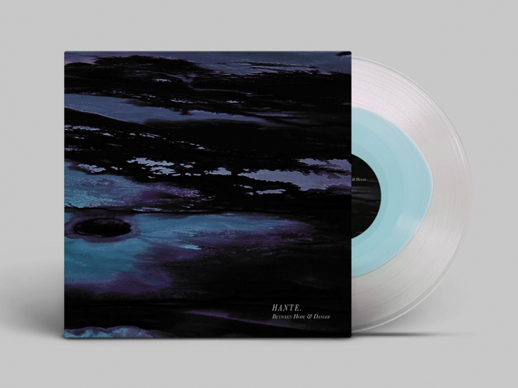 HANTE. Between Hope and Danger [Blue Ice/Clear] LP VINYL 2020 LTD.250