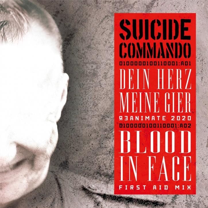 SUICIDE COMMANDO Dein Herz, Meine Gier / Bunkerb!tch MCD 2020 LTD.999