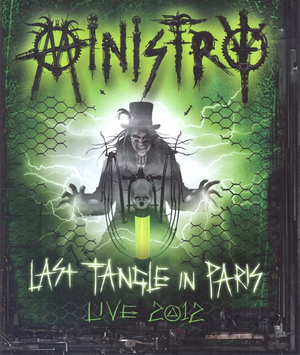 MINISTRY Last Tangle In Paris: Live 2012 Defibrillatour BLU-RAY + 2CD 2014