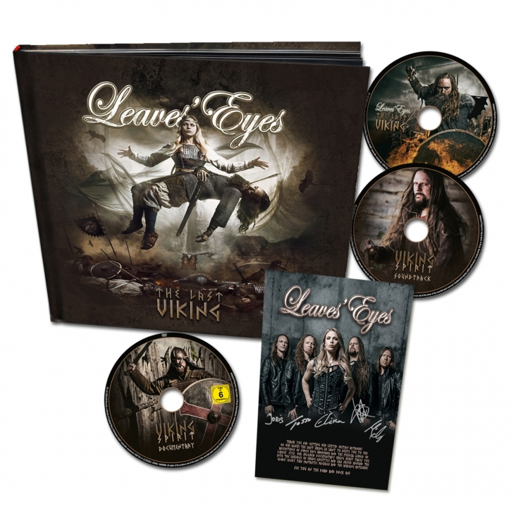 LEAVES EYES The Last Viking (Ltd. Hardcover Artbook) 2CD+DVD 2020 (VÖ 28.10)