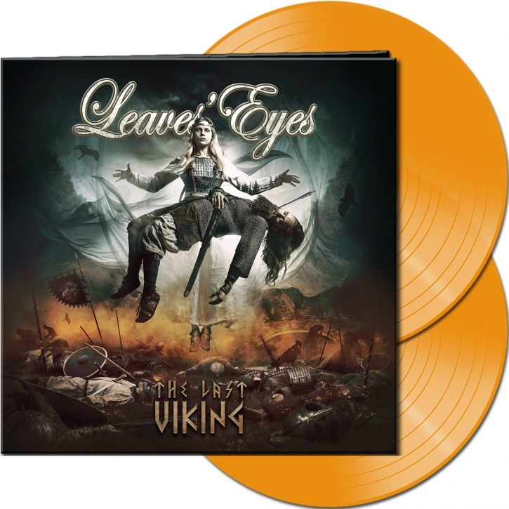 LEAVES EYES The Last Viking (Ltd. Gatefold Hazy Orange) 2LP VINYL 2020 (VÖ 23.10)